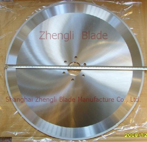 Nonwovens Round-cut Knife Benin Blade, Plate Cutting Combination Machine With Circular Blade Benin Cutter, Cutting Paper Machinery Blades