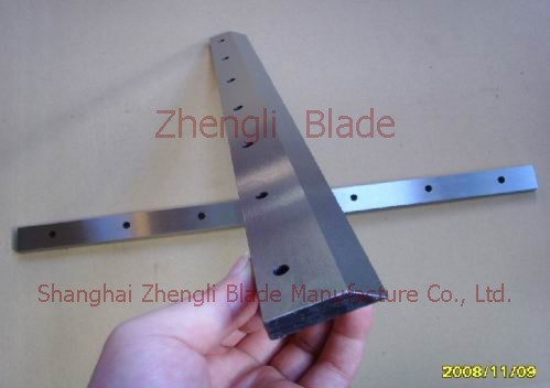 Cutting Wood / Wood Cutting Blade Of Forestry Machinery Barbuda Blade, Forestry Machinery Blades