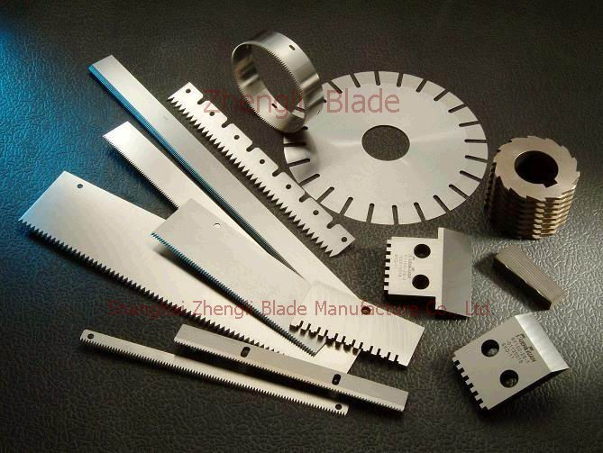 Tooth Blade Kaohsiung Blade, Plastics Industry Plastics Industry Blade With Teeth