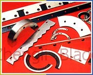Carton Machinery Industry The Paper Arc Blade,  Curved Paper Arc Blade Marseilles Blade, The Paper The Arc-shaped Blades Marseilles Cutter, Paper