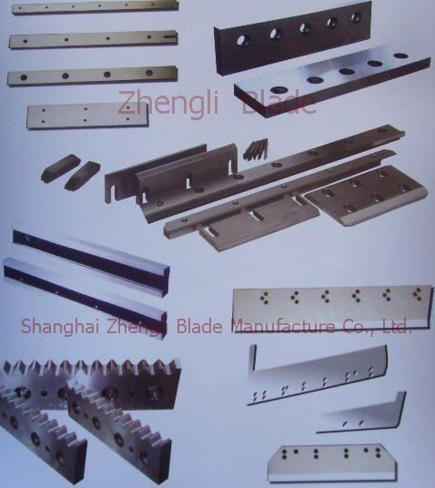 Cutting Type Steel Sheet Chautauqua Blade, Steel Scissors Chautauqua Cutter, Cut Steel Blade
