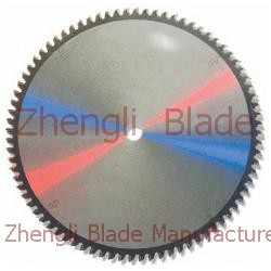 Cutting Plate Sawing Machine Saw Blade Cincinnati Blade, Aluminum Composite Panel Saw Blade