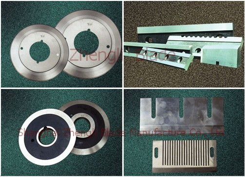 Thin Blade Compressor Blade Pescadores Blade, Wrapping Paper Tube Machinery Round-cut Blade