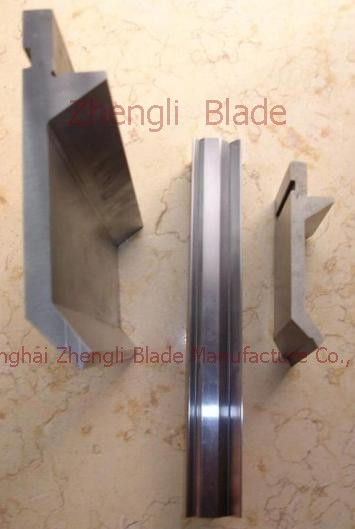 Double V Groove Fold Bending Die Jugoslavia Blade, Elongated Rails Jugoslavia Cutter, Bending Machine Knife