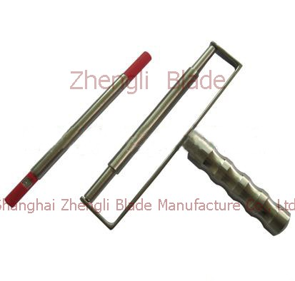 Show Color Bars,  Wire Rod Coater Balearic Blade, Scraping Ink Balearic Cutter, Scraping Color Bar